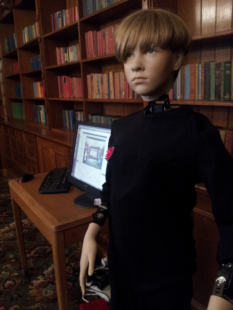 HARR1 in the Bletchley Park mansion library