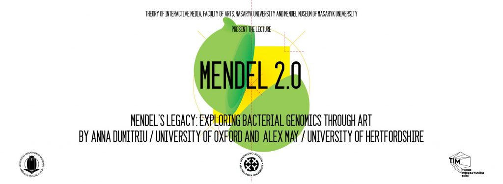 Mendel's Legacy: Exploring Bacterial Genomics through Art