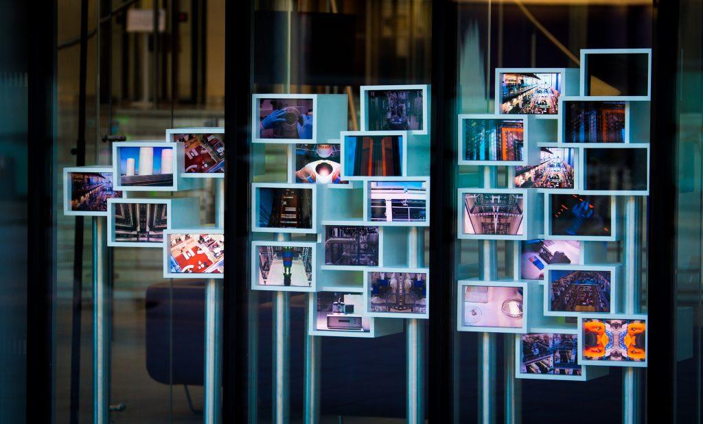 flow state interactive digital video sculpture